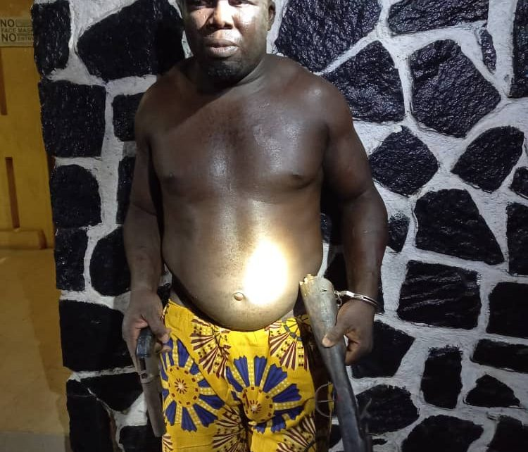 A/R: Notorious armed robber grabbed at Tepa